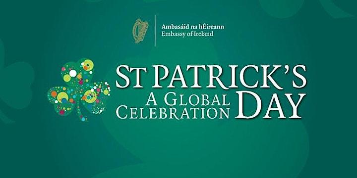 St. Patrick's Day  - Virtual Reception image