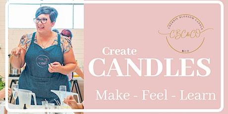 Candle Making Workshop - Vintage bowls! tickets