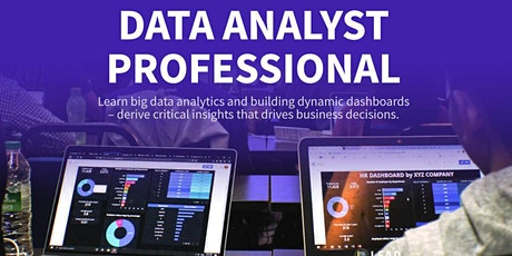 Data Analyst Professional Course tickets