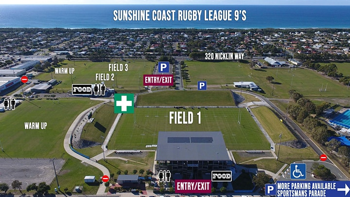 Sunshine Coast Rugby League 9's  and Family Fun Day image