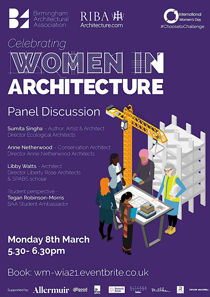 Panel Discussion Celebrating Women in Architecture image