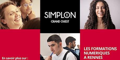 Information collective Formations Simplon - Femmes et Numérique billets