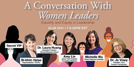 A Conversation with Women Leaders - Equality and Equity in Leadership tickets