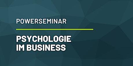 Power-Seminar: Psychologie im Business Tickets