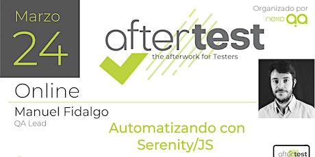 Automatizar con Serenity/JS entradas