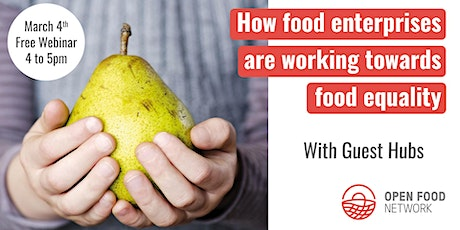 How food enterprises are working towards food equality tickets