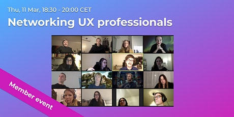 Networking UX professionals // CPHUX Members only tickets