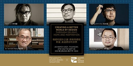 Creating a Better World by Design through Delight, Hope & Inspiration tickets