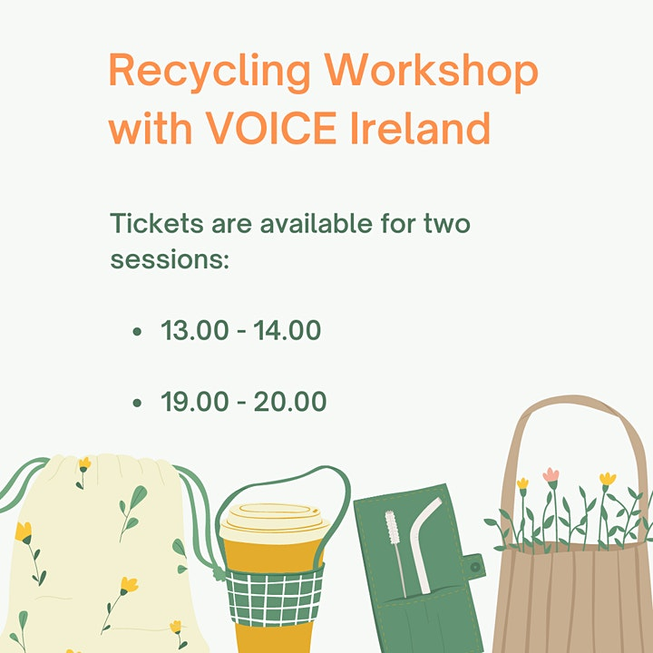 Lunchtime Recycling Workshop with VOICE Ireland image