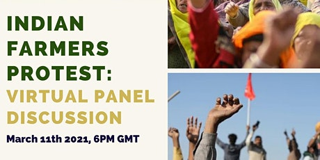 Discussion panel: Farmers protests in India tickets