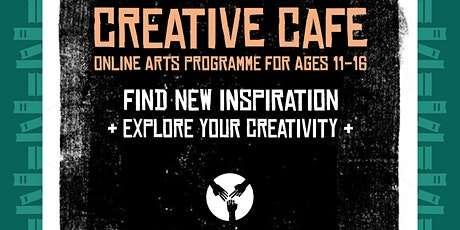 Creative Café - Art workshops  for ages 11 - 16, with Rock Paper Scissors tickets
