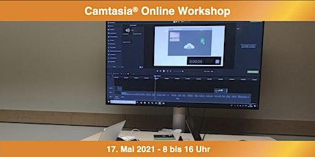 Camtasia Online Workshop Tickets