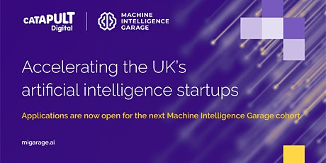 Accelerating the UK's AI startups  - applicant briefing tickets