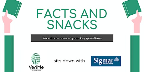 Recruitment Facts & Snacks - Getting your Career Ready for Take Off tickets