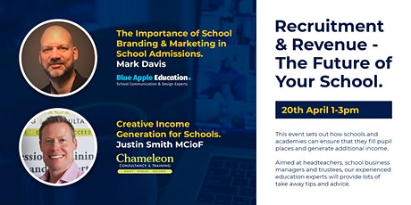 Recruitment and  Revenue - The Future of Your School tickets