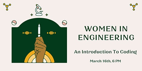 Women In Engineering: An Introduction to Coding tickets