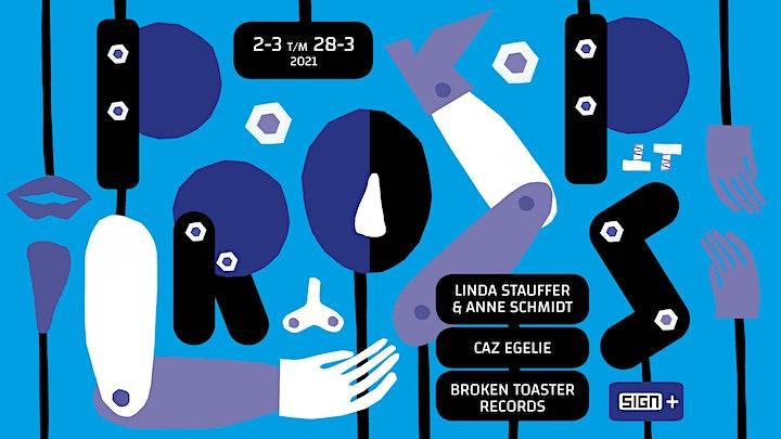 Afbeelding van Props | Linda Stauffer & Anne Schmidt, Caz Egelie en Broken Toaster Records