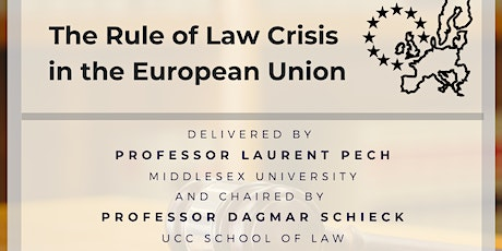 The Rule of Law Crisis in the European Union tickets