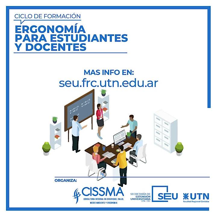 Imagen de Ergonomía para Estudiantes y Docentes