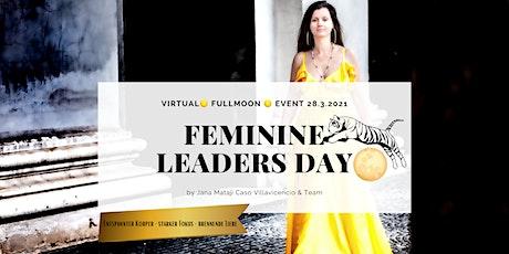 Virtual  Feminine Leaders Day - verkörpere deine Vision Tickets