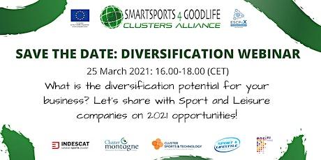 """Diversification Webinar"" - SmartSports4GoodLife biglietti"