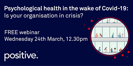 Psychological health in the wake of Covid-19 tickets