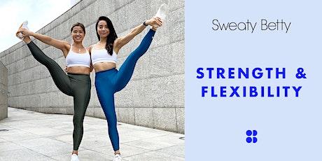 Christine & Doris x Sweaty Betty Strength & Flexibility tickets