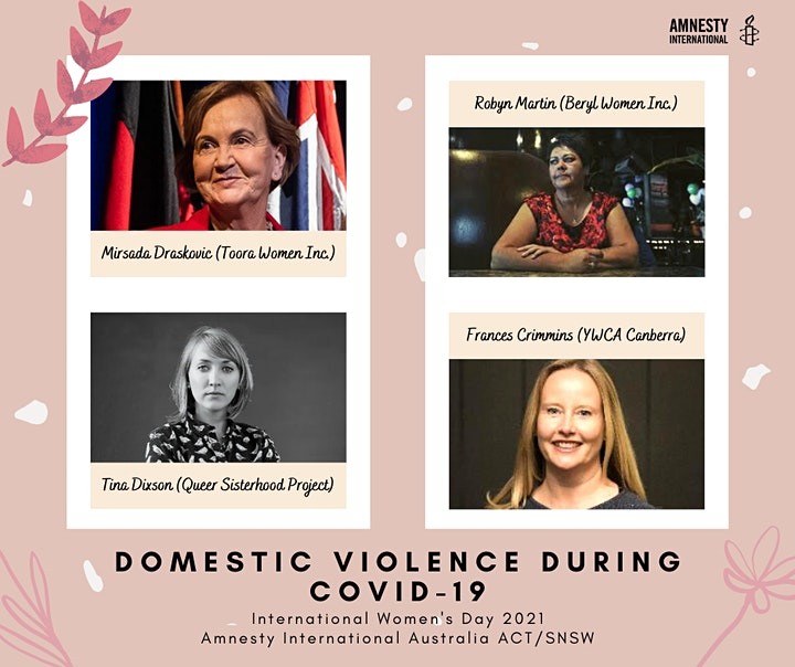IWD 2021: Domestic Violence during COVID-19 Speakers Panel image