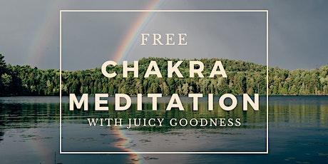 FREE Chakra Mantra Meditation tickets