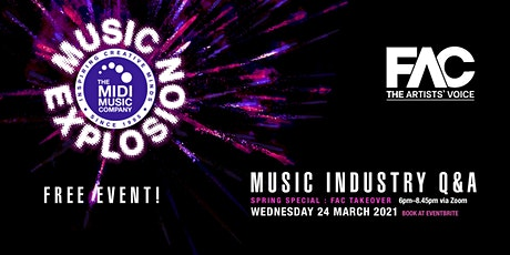 Music Explosion Online Spring Special: FAC Takeover tickets