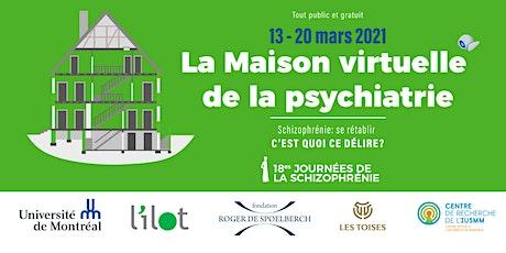 Maison virtuelle de la psychiatrie - conférences billets
