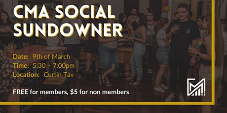 CMA Social Sundowner tickets