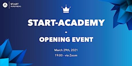 START Academy - Opening Event biglietti