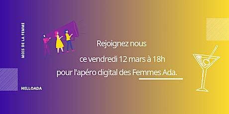 L'apéro digital des Femmes Ada #1 billets