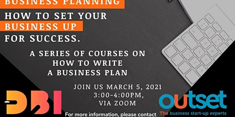 Business planning to set your business up for success tickets