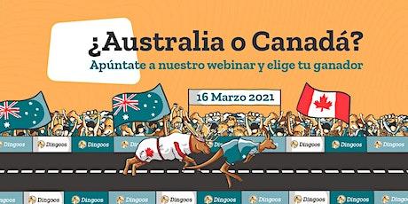 Charla Online: Australia vs Canadá entradas