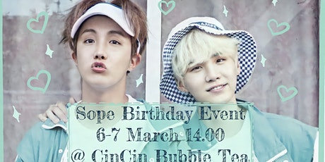Cin Cin Bubble Tea x BTS ARMY Baltics - Birthday Cup Sleeve Event tickets