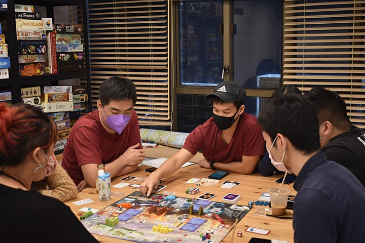 March Board Game Social image