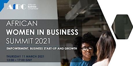AfBC African Women in Business Summit 2021 tickets