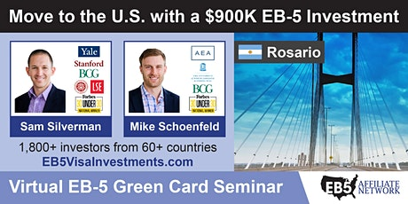 U.S. Green Card Virtual Seminar – Rosario, Argentina entradas