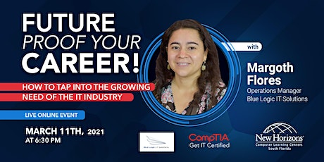 Future Proof Your Career! How to claim your spot in the growing IT Industry tickets