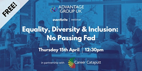 Equality, Diversity & Inclusion: No Passing Fad tickets
