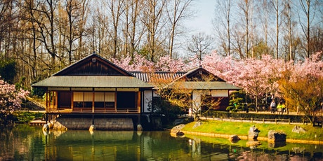 Japanse Tuin 23 april  voormiddag10u00 - 13u30  - morning 10:00 - 13:30 tickets