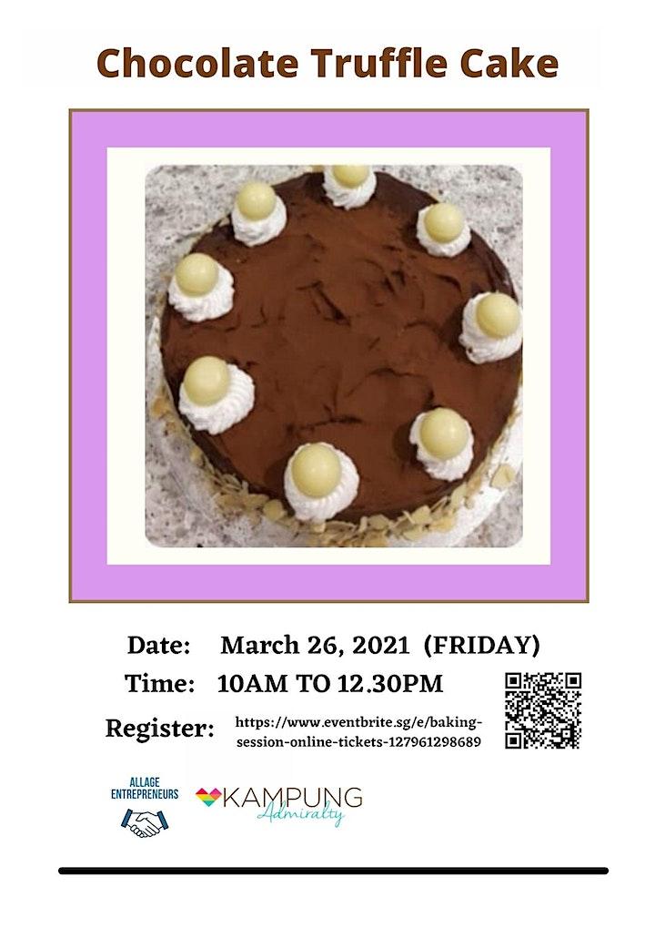 Baking Session (Online) image