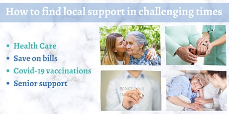 Local support with covid vaccination, energy bills and support at home tickets