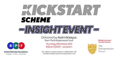 Kickstart Employment Grant - Insight Event tickets