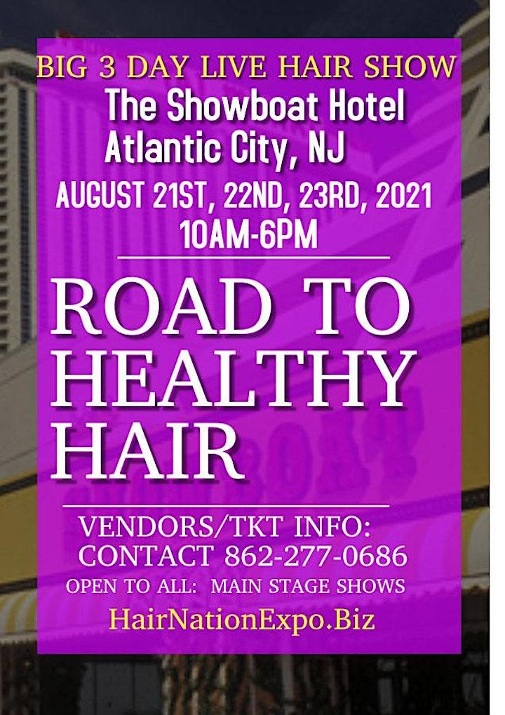 Road to Healthy Hair Workshop 2021 image