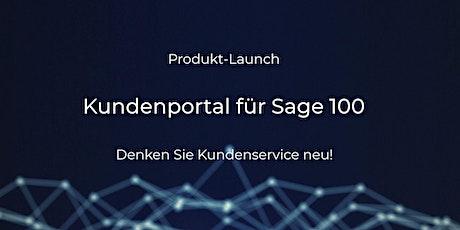 Produkt-Launch: Kundenportal für Sage 100 Tickets