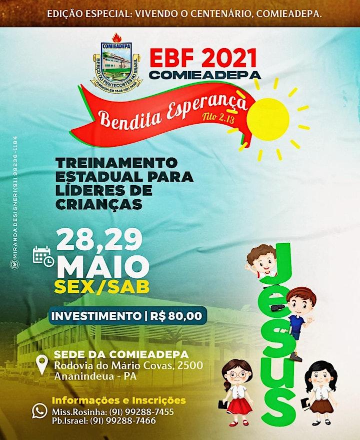 Imagem do evento Treinamento Estadual para Líderes de Crianças - EBF COMIEADEPA 2021