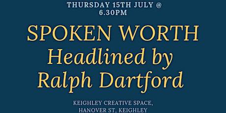 Spoken Worth tickets